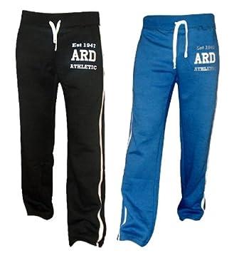 ARD - Pantalones de chándal para hombre, de forro polar, para ...