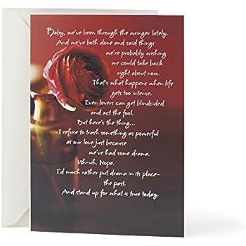 Amazon i miss you personalized im sorry greetings card hallmark mahogany love greeting card im sorry m4hsunfo