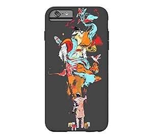 The Painter iPhone 6 Plus Charcoal Tough Phone Case - Design By Humans wangjiang maoyi