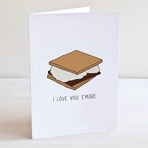 I Love You Smore Greeting Card