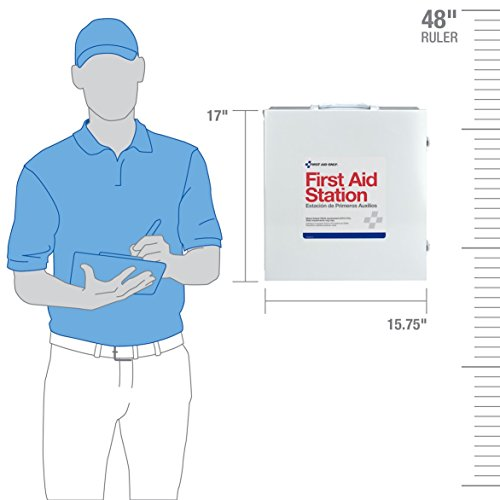 First Aid Only 100 Person 3 Shelf First Aid Steel Cabinet by Pac-Kit (Image #4)