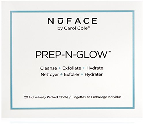 NuFACE Prep N Glow Cloths Pack 20 product image
