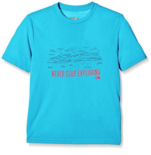 T Meridian taille Courtes Fr shirt North Reaxion S S Manches Blue Fabricant Garçon Face qW0wHaE