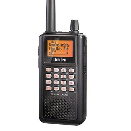 amazon com uniden handheld trunktracker iii analog police scanner rh amazon com Uniden TrunkTracker III BC346XT Uniden TrunkTracker III Scanner