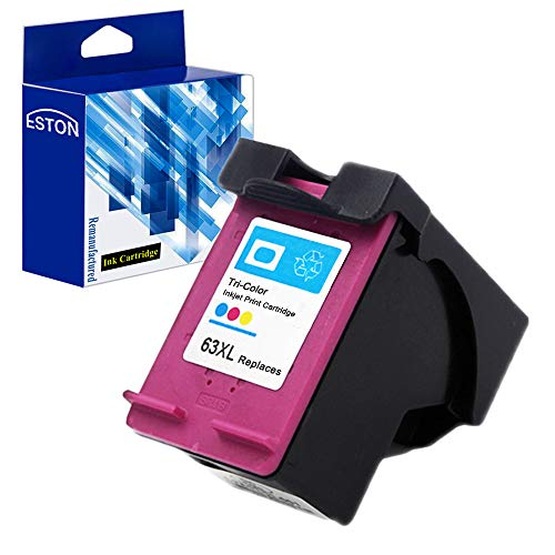 ESTON Remanufactured Ink Cartridge Replacement for HP 63XL