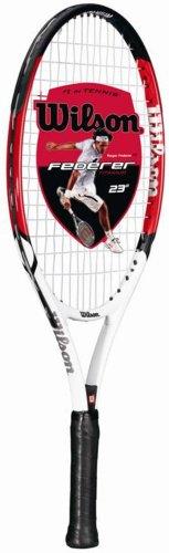 Wilson Federer 23 Junior Tennis Racquet (Size - 3-5/8) by Wilson