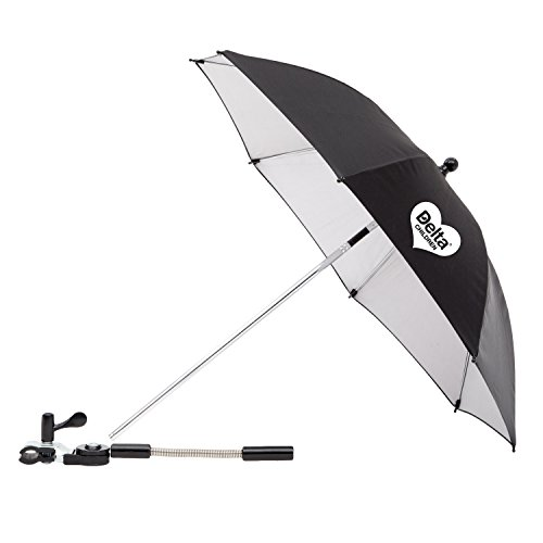 Delta Children Clip-On Universal Stroller Umbrella with UV P