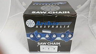 "Archer Chainsaw Chain 100ft Roll 3/8"" .050 Chisel Chainsaw Chain"