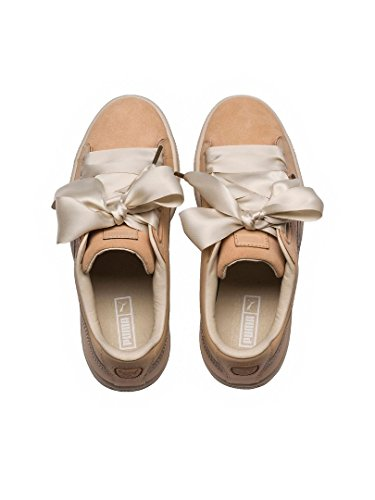 Heart vachetta Up WMNS Natural Puma nude Basket natural natural vachetta wcqBc1Of5