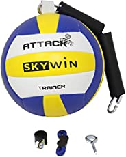 Skywin Volleyball Spike Trainer - Volleyball Training Equipment Improves Spiking, Serving, and Arm Swings - Co