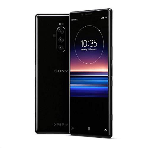 Sony Xperia 1 J9110 Dual-SIM 128GB/6GB Dual Sim - International Model - No Warranty in The USA - GSM ONLY, NO CDMA (Black)
