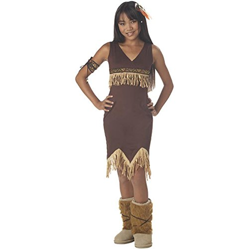 Girl's Indian Princess Tween Halloween Costume (Indian Princess Tween Costumes)