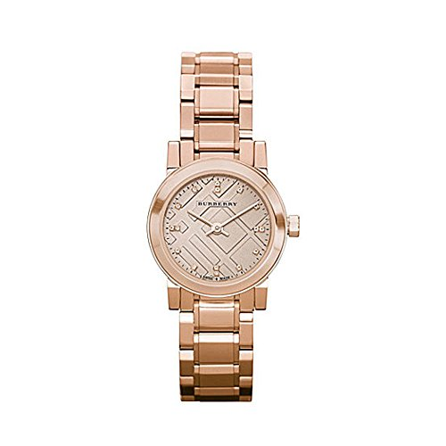 Burberry BU9215 Watch Heritage Ladies - Rose Gold Dial Stainless Steel Case Quartz - Pink Burberry Rose