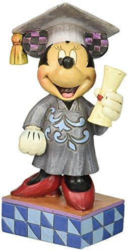 Enesco Disney Traditions by Jim Shore Graduation Minnie Figurine, 6.75 in