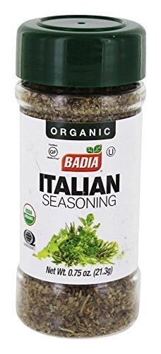 - BADIA SPICES Organic Italian Seasoning, 0.8 OZ