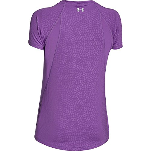 Under Armour Women 's UA coolswitch Trail Manga Corta Mega Magenta/Reflective