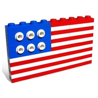 Lego American Flag 10042: Toys & Games
