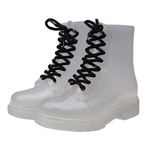 clear rain boots women - 2