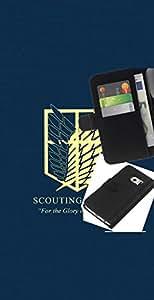 YiPhone /// Tirón de la caja Cartera de cuero con ranuras para tarjetas - Legión de exploración - Samsung Galaxy S6 EDGE
