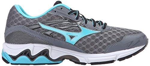 Mizuno Women's Wave Inspire 12-w Running Shoe, Quiet Shade-Capri, 7 B US by Mizuno (Image #7)