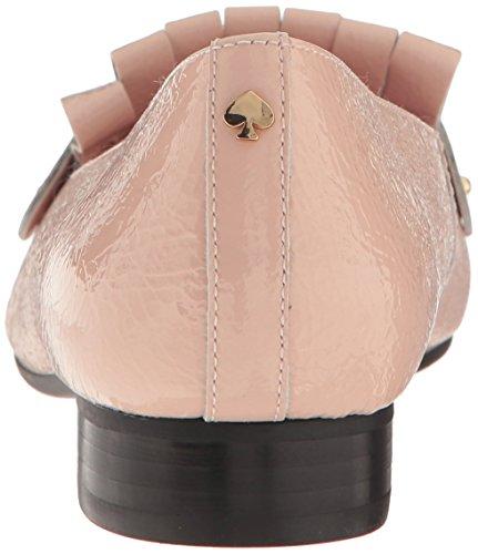 Kate Schoppen New York Dames Karen Smoking Loafer Blos Crinkle