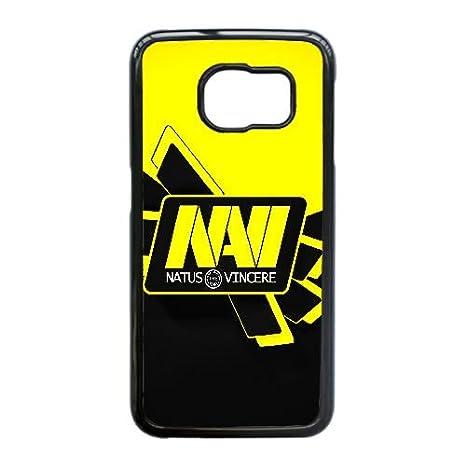 Natus Vincere Navi Krass Dota Csgo 103.252 Samsung Galaxy S6 Edge caja del teléfono celular funda Negro caja del teléfono celular Funda Cubierta ...
