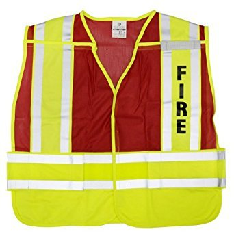 PSV Pro 200 Series Fire Vest - Size: Medium - Extra-Large by ML Kishigo