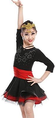 Faldas Latinas de Baile Latino de Baile Traje de Las Mujeres de la ...