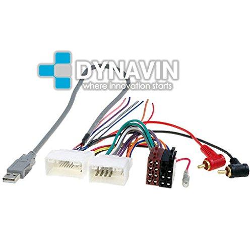 ISO-KIA.2011 - Conector iso universal para instalar radios en Kia y Hyundai. Dynavin