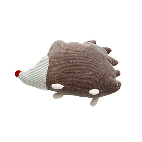 FLYING BALLOON Lovely Cartoon Cat with Tie Shaped Elephant Hedgehog Dog Dinosaur Animal Shaped Throw Pillows Waist Rest Cushion Stuffed Toy Doll for Bedroom Office Car Best Gift for Kids