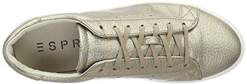 Khaki 265 Oro Scarpe Basse Sportive ESPRIT Donna Pale 017EK1W003 pqgnw8