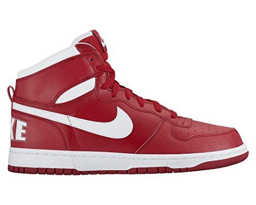 Nike Men's Big High Basketball Shoe Gym Red/White 11.5