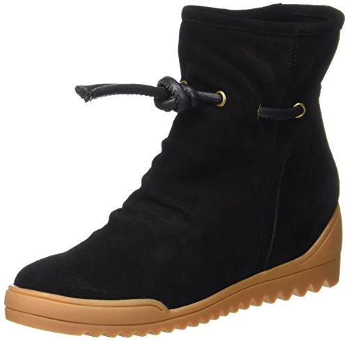 The Women''s Bear Line Black Shoe Boots 110 S Black 110 1qEd55wA