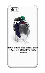 Fashionable PyfEeup27342dmPDK Iphone 5/5s Case Cover For Funny Quotes Protective Case