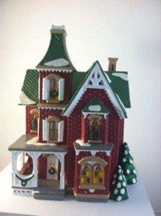 Department 56 Original Snow Village ''Beacon Hill Victorian''