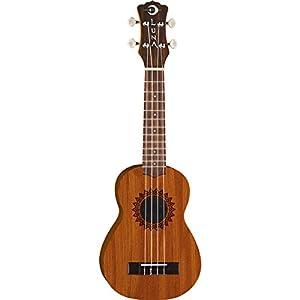 Luna Guitars Soprano Vintage Mahogany Ukulele Natural Review
