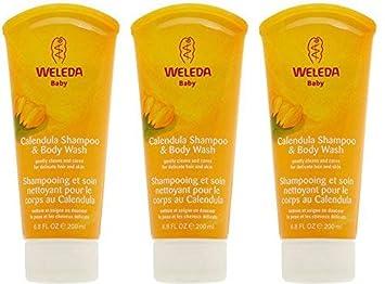 3 PACK – Weleda – Calendula Shampoo Body Wash 200ml 3 PACK BUNDLE