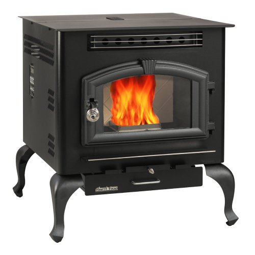US Stove 6041HF Multi Fuel Stove, 2,000 Square (Multi Fuel Corn)