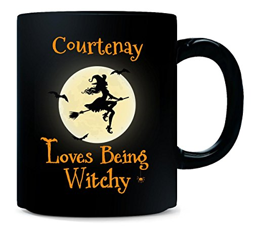 Courtenay Loves Being Witchy Halloween Gift - Mug for $<!--$17.99-->