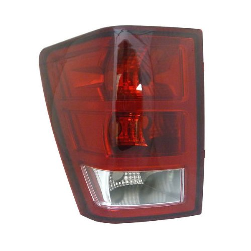 2005-2006 Jeep Grand Cherokee Taillamp Taillight Rear Brake Tail Light Lamp Left Driver Side (05 06) ()