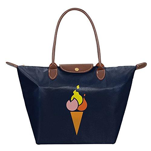 Spice Cream Funny Women's Stylish Waterproof Tote Shoulder Bag Cosmetic (Jones Sweat Light)