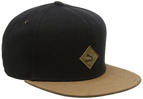 PUMA Mütze Flatbrim Cap, Black, One size, 834008 01