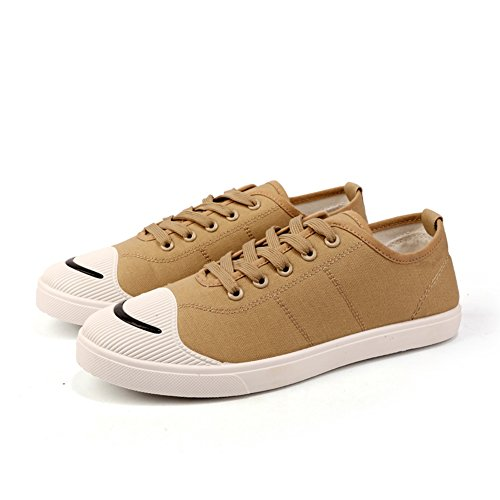 up HUAN Shoes Lace Sneakers Mens Deck Breathable Shoes A Espadrilles Casual Canvas Outdoor Shoes Exercise q1wHafq