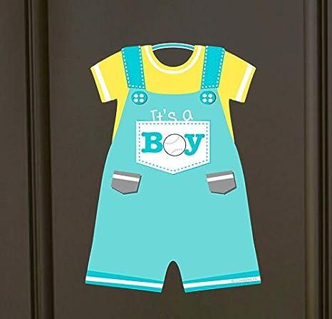 Baby Pilot Door HangerIt/'s a Boy!It/'s a Girl!Birth AnnouncementNursery DecorHospital Door HangerBaby Shower GiftBaby GiftAirplane
