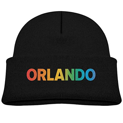 Orlando Benefit Graphic Cotton Fleece Baby Young Winter Warm Hat,Fashion Beanie Knit Cap for Girls and Boys