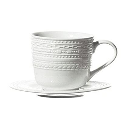 La Porcellana Bianca.La Porcellana Bianca Casale Coffee Cup With Stand Set Of 6 3 Oz