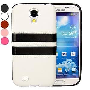 GX 20150511 de cuero cubierta de la caja ultrafina de la PU para Samsung s4 galaxia i9500 (colores surtidos) , Pink