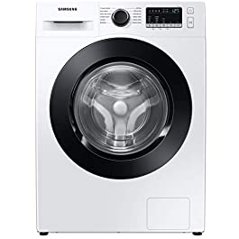 Samsung 8 Kg Inverter 5 Star Fully-Automatic Front Loading Washing Machine (WW80T4040CE/TL, White, Hygiene Steam)