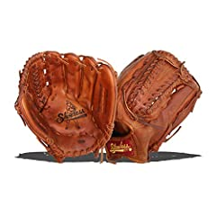 All styles of Shoeless Joe ball gloves are manufactured using 100% cowhide, tanned and treated with our trademarked Antique Tobacco Tanning Process. After each glove is assembled and hand laced they are hand-rubbed with old time ingredients t...