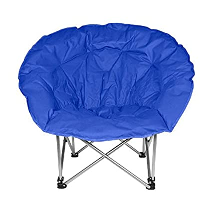 Amazon.com: Milestone Camping Silla plegable de luna, color ...